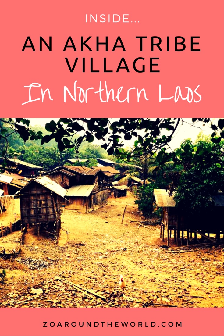 What is it like staying with an Akha Tribe in Laos?