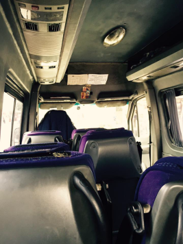 The mini bus