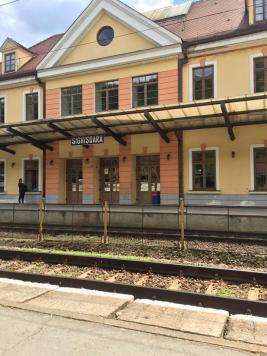 Sighisoara Train Station