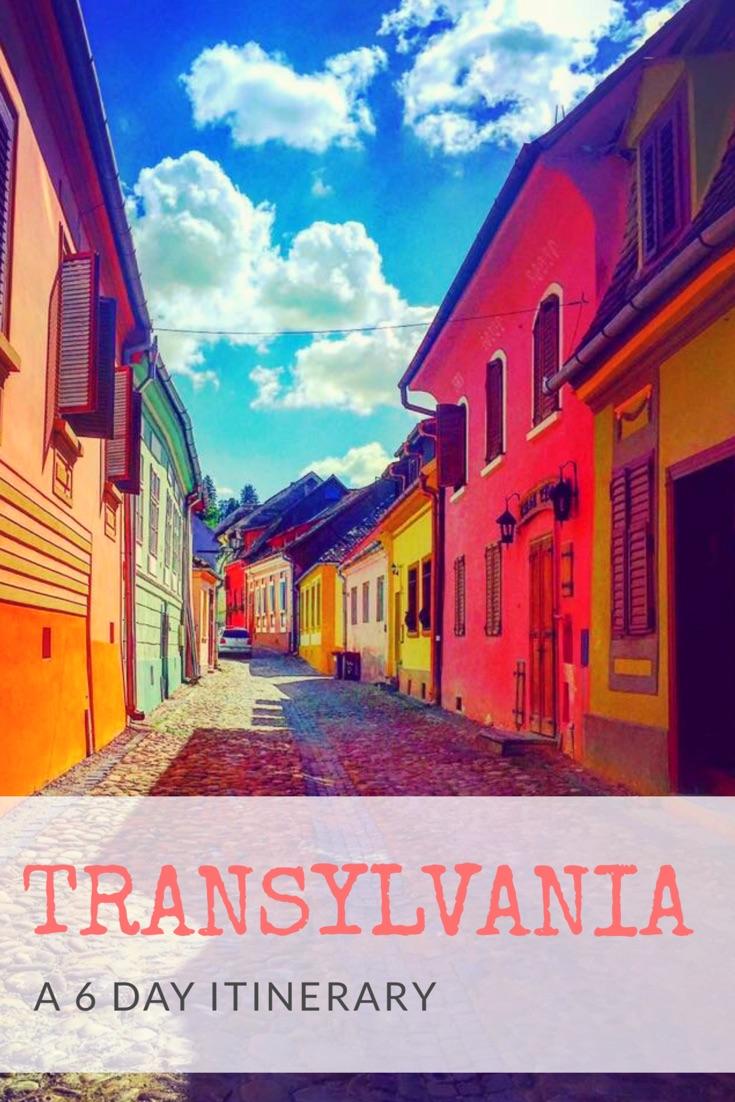 Transylvania - A 6 Day Itinerary