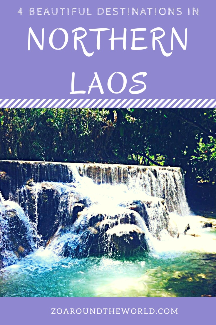 Top 4 beautiful destinations in Northern Laos