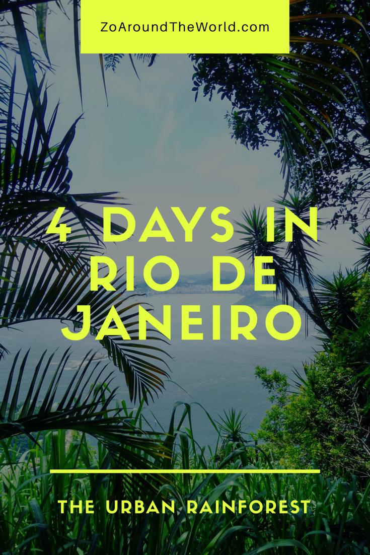 4 Days in Rio de Janeiro - Guide and budget
