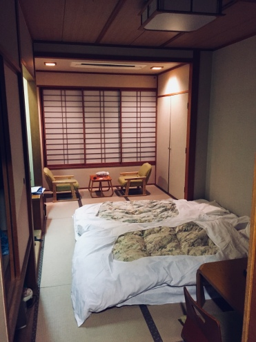 Our traditional Japanese room
