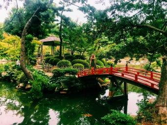 Japanese gardens in Hiroshima