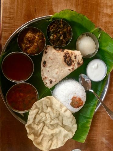 Dinner in Hampi