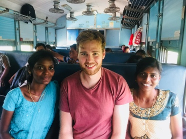 The train journey from Madurai to Trichy
